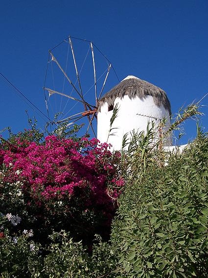 Molino de Mikonos, Grecia