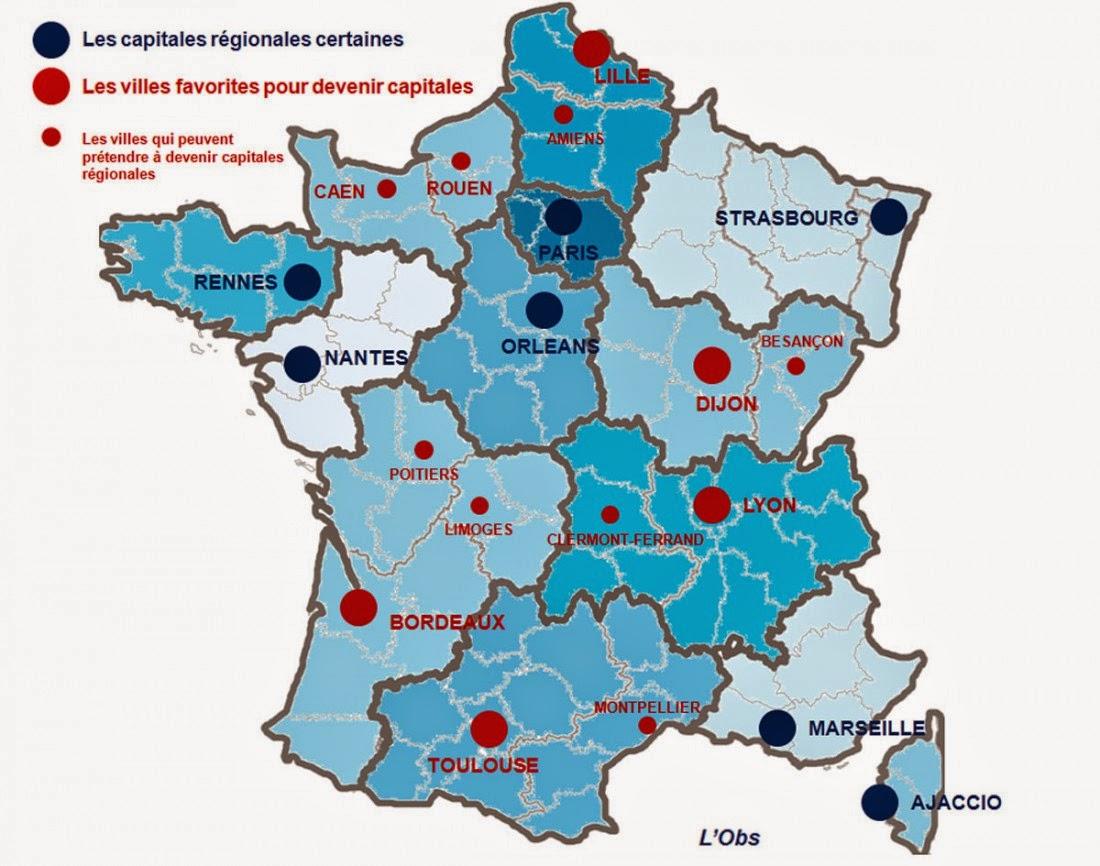 L'infographie : La France des 13 régions - Unatech