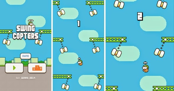 Download Swing Copters v1.0.1 APK, Game Android Baru Penerus Flappy Bird