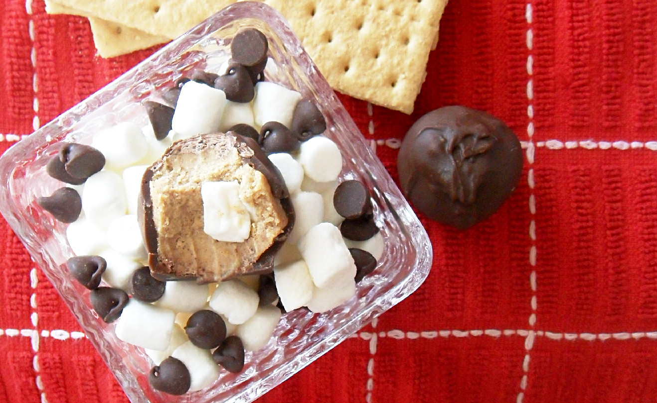 Cooking to Perfection: S'mores Truffles