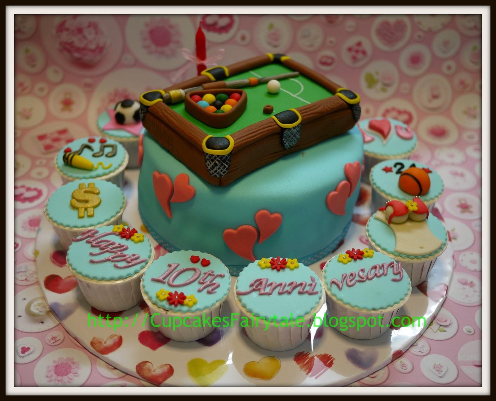 Cupcakes Fairytale LEE CHU S 10TH WEDDING ANNIVERSARY