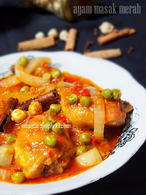 malay red cooked chicken