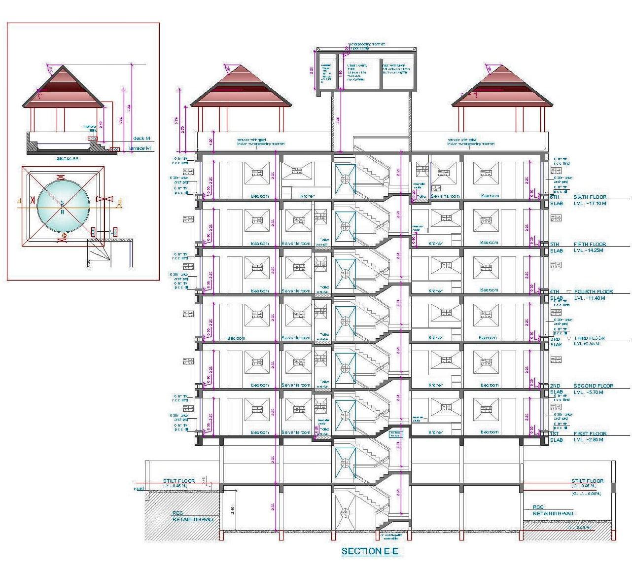 Architectural Portfolio Feather Castle A Housing At