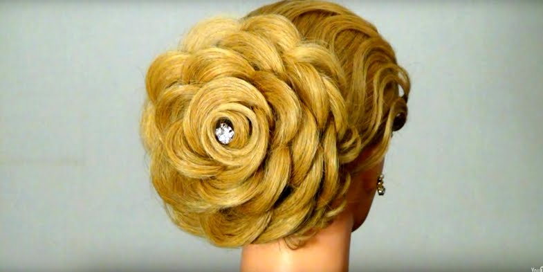 Hair Style Vidio Video Tutorial For A Superb Rose Hairstyle