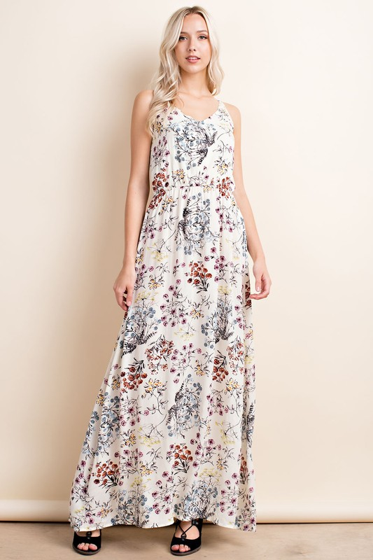 Whispy Full-length Floaty Florals