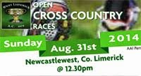 Sun 31st...Open X-Country in Newcastlewest