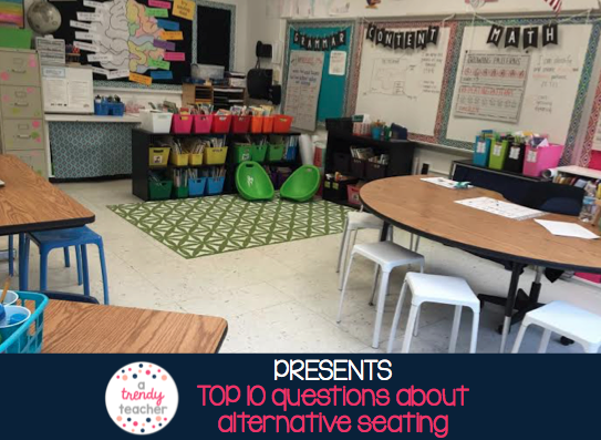 Classroom Seating Ideas Elementary ~ Alternative classroom seating part a trendy teacher