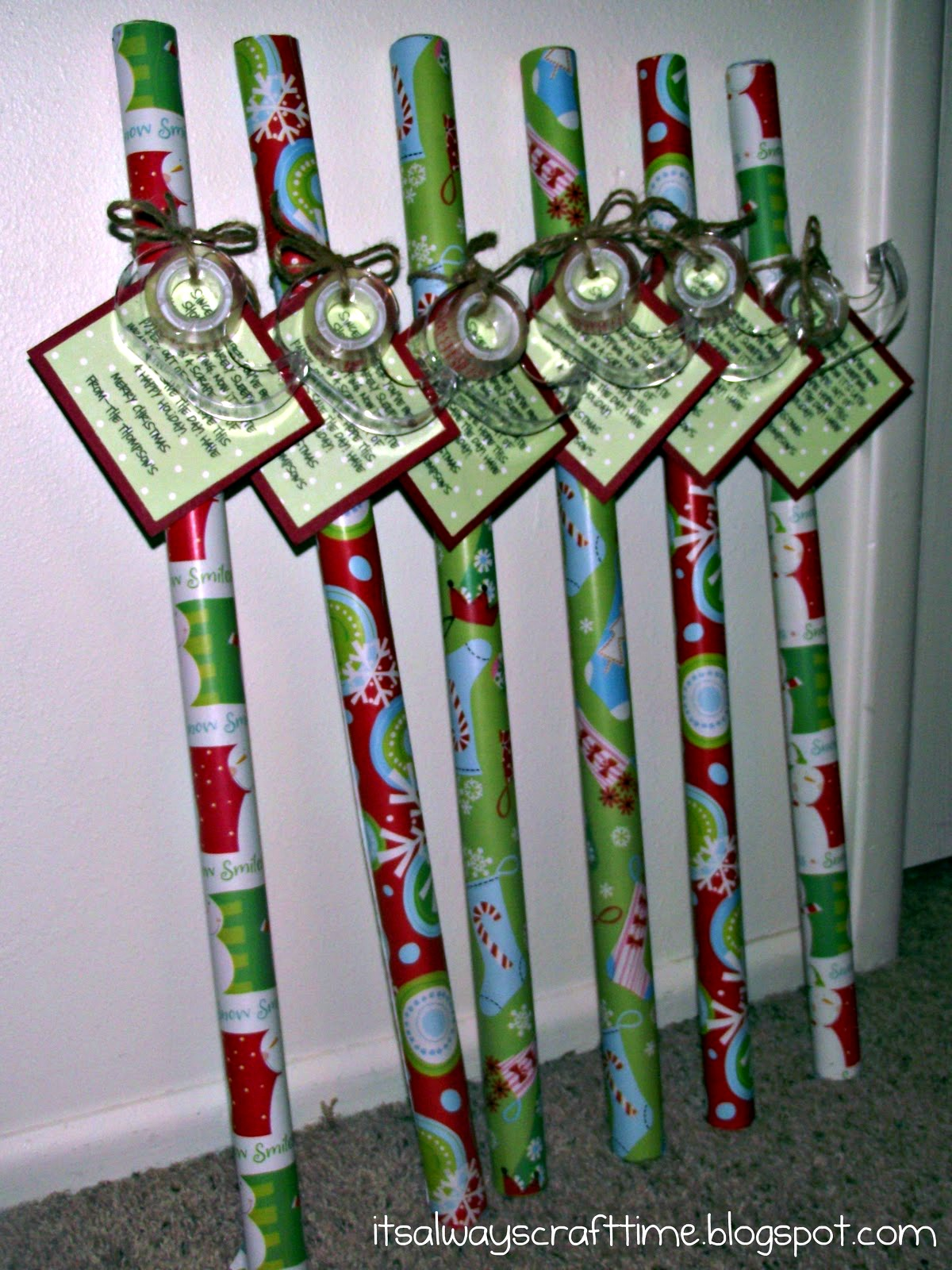 It 39 s always craft time neighbor gift idea for Christmas present ideas on a budget
