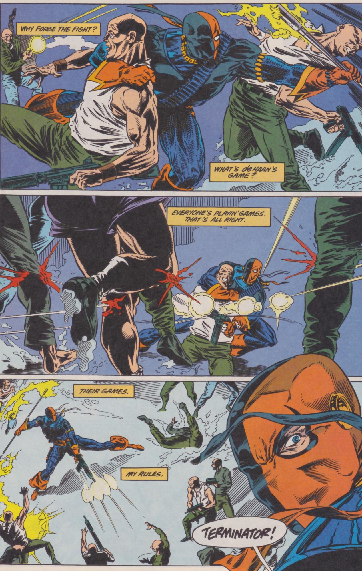 Deathstroke (1991) Issue #22 #27 - English 17