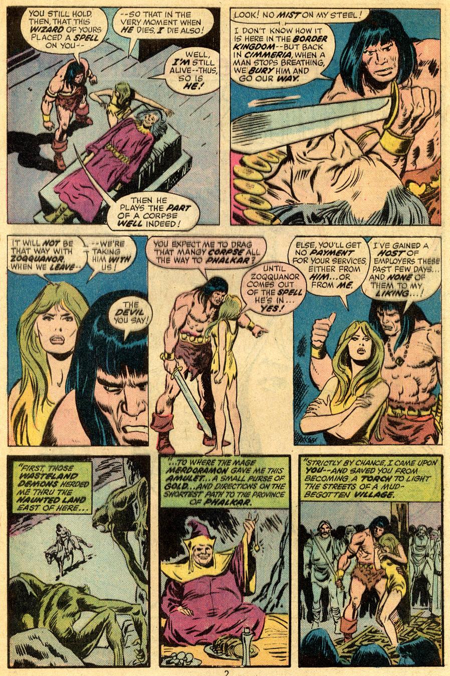 Conan the Barbarian (1970) Issue #47 #59 - English 3