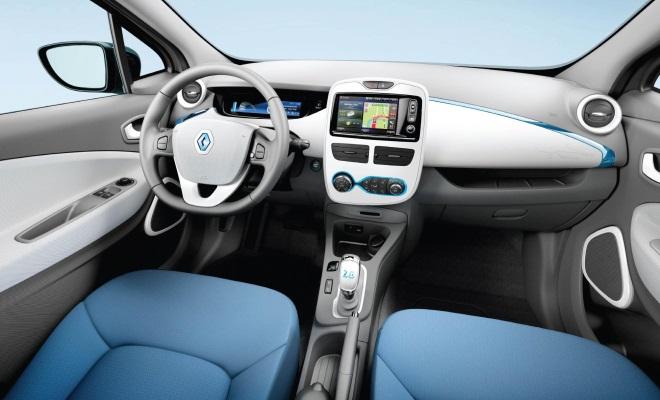 2013 Renault Zoe interior