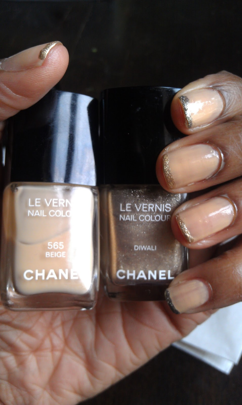 Lacroix the Beauty Blog: DIY: Rodarte\'s Ombré French Manicure