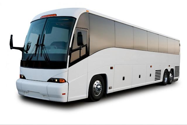 foto Motorcoach transportasi darat