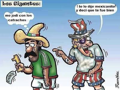 Futbol mexicanos gringos honduras
