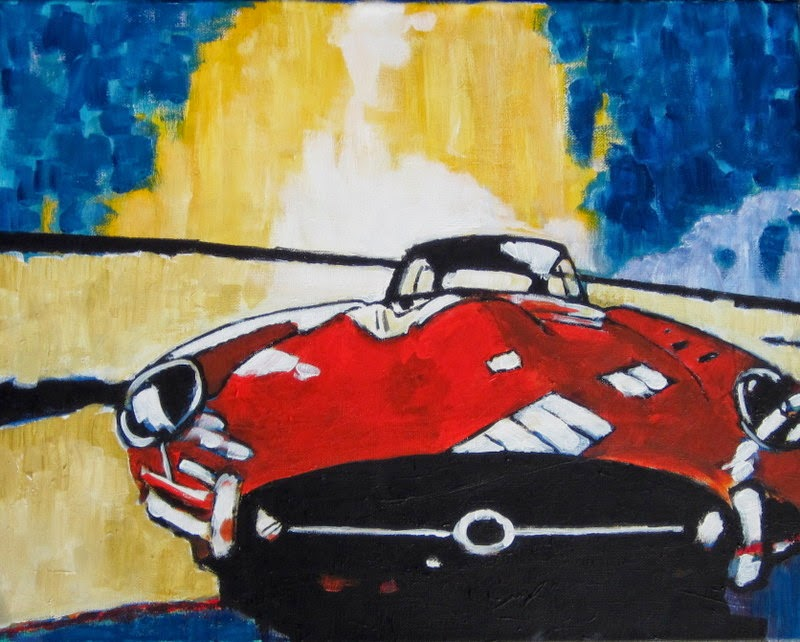 bruce docker | paintings | jaguar