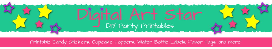 Digital Art Star :: Cute Party Printables