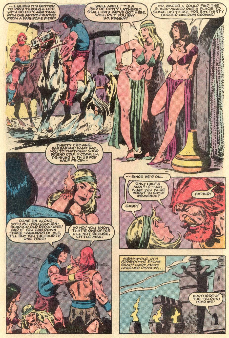 Conan the Barbarian (1970) Issue #162 #174 - English 3