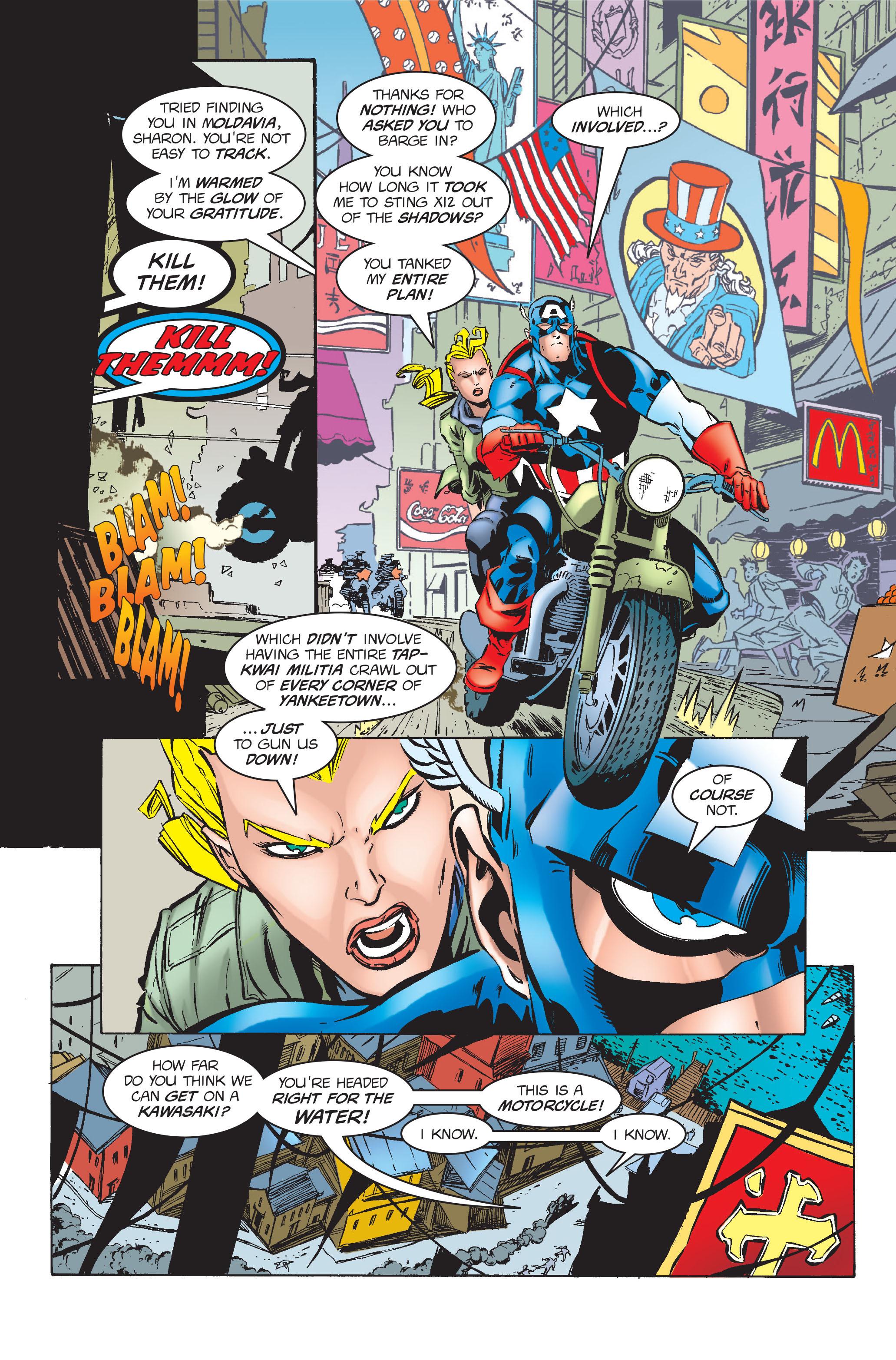 Captain America (1968) Issue #454 #411 - English 6