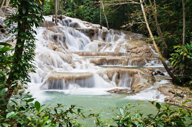 Las cataratas del río Dunn, Jamaica