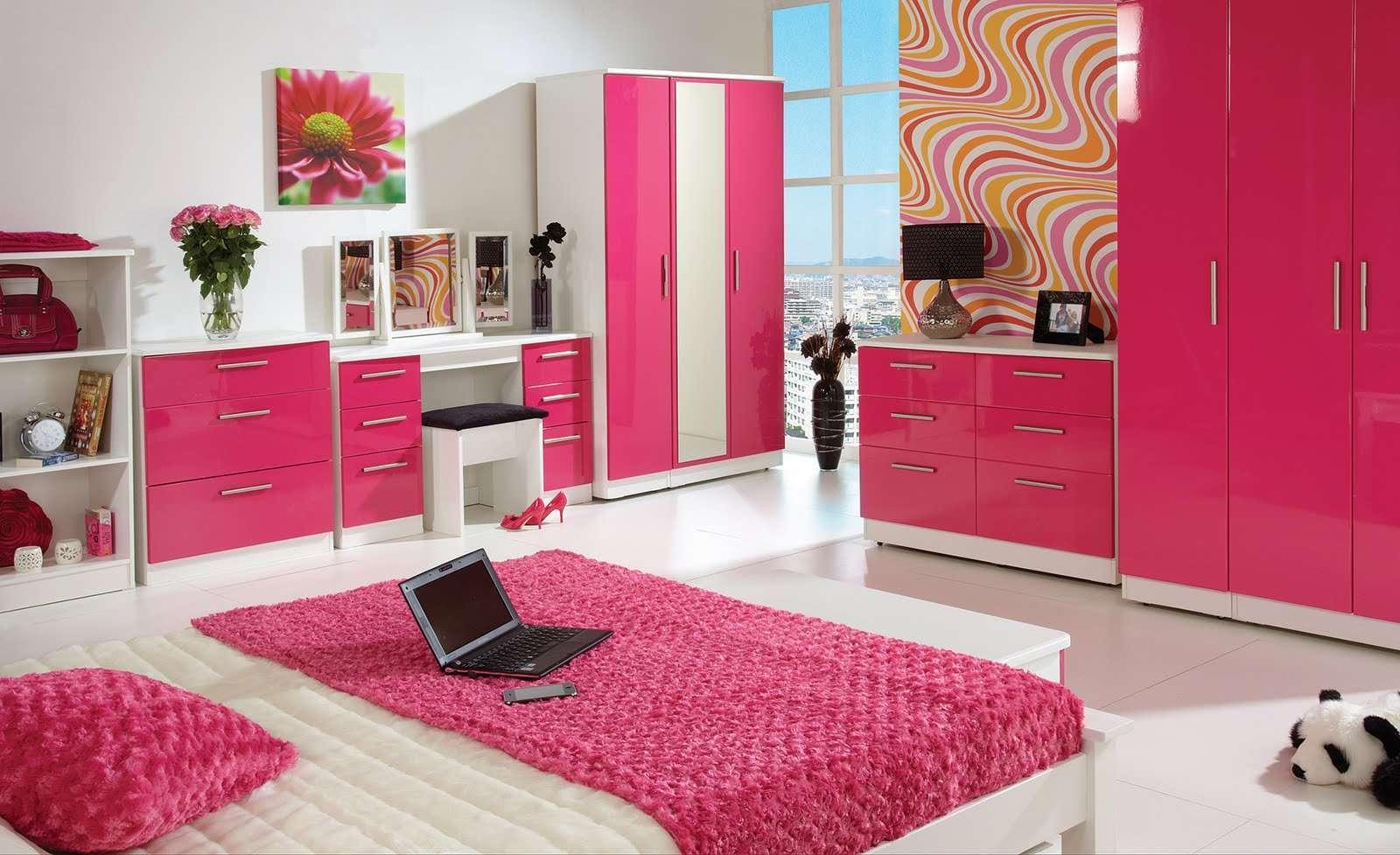 احدث ديكورات وتصاميم غرف نوم البنات | ديكور غرف