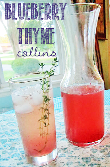 tales from a cottageBlueberry Thyme Collins