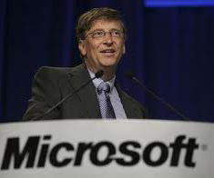 a history of bill gates microsoft corporation The original organizational structure of microsoft was functional the company started with only 11 positions and continued to expand over the years flat structure tall structure the company was founded by bill gates and paul allen on april 4, 1975.