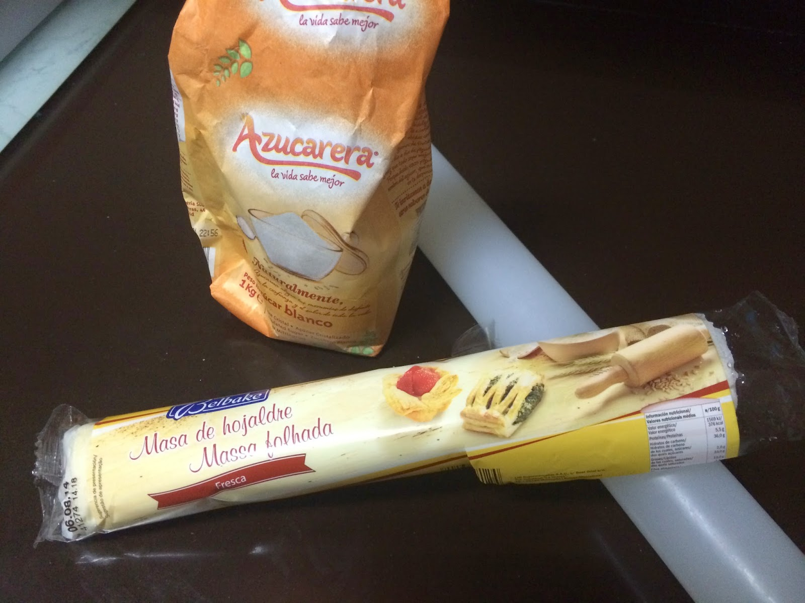ingredientes palmeritas azúcar