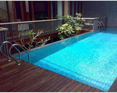 kolam renang hunian netral