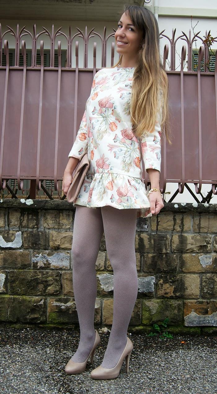 calze beige