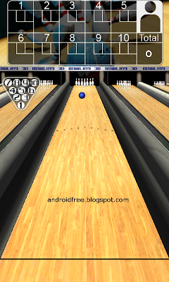 3D Bowling Free Android Game