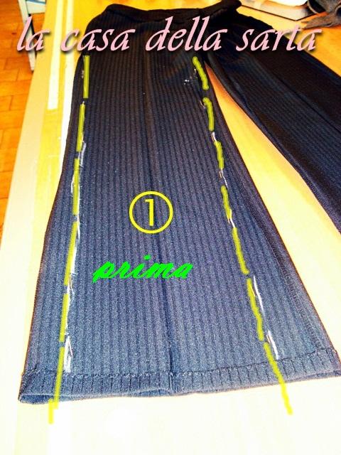Gambe Pantalone La SartaRecupero Casa Con Della Large Y6fgb7y