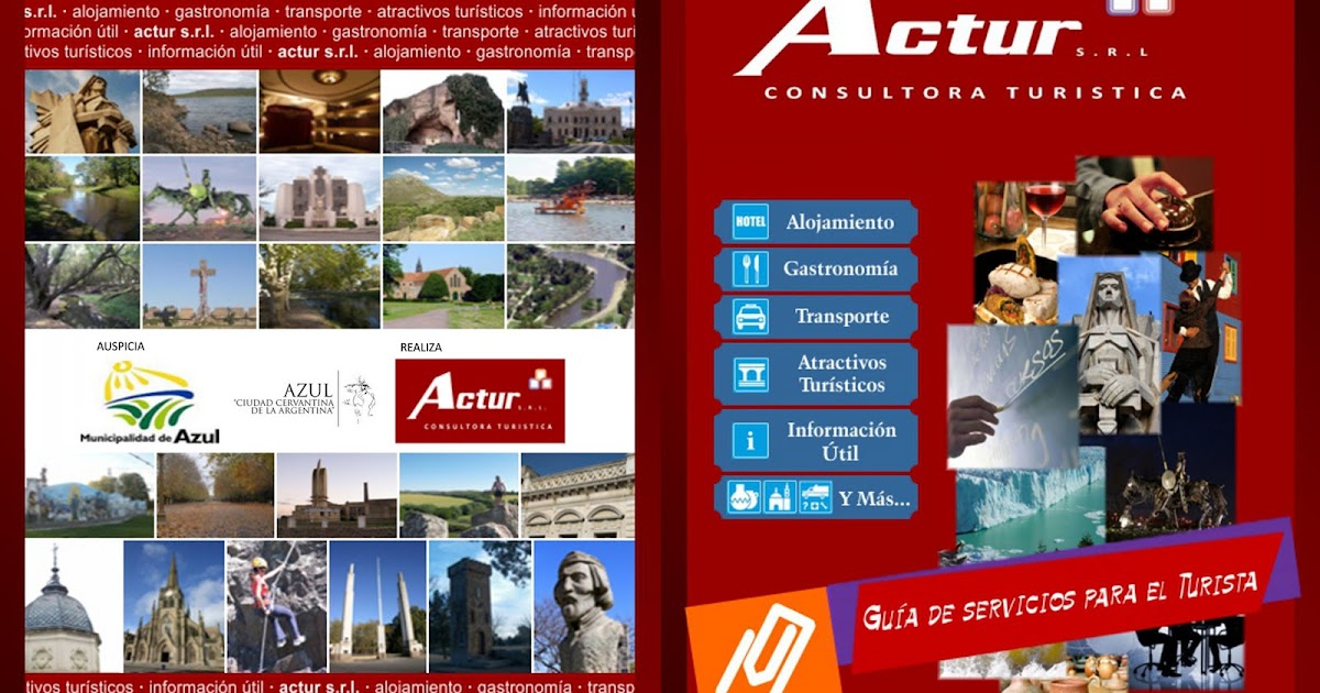 Actur srl azul cuenta con una nueva gu a de servicios for Oficina turismo castilla y leon