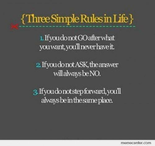 Three simple rules jjbjorkman.blogspot.com