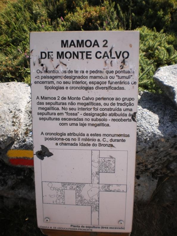 Mamoa 2 de Monte Calvo