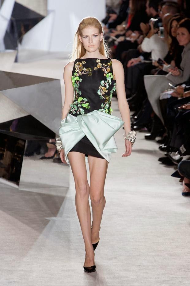 Fashion Runway Giambattista Valli Haute Couture Spring/Summer 2014