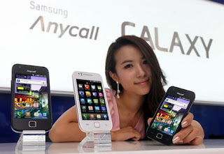 Samsung Galaxy K Android 2.2 phone for South Korea
