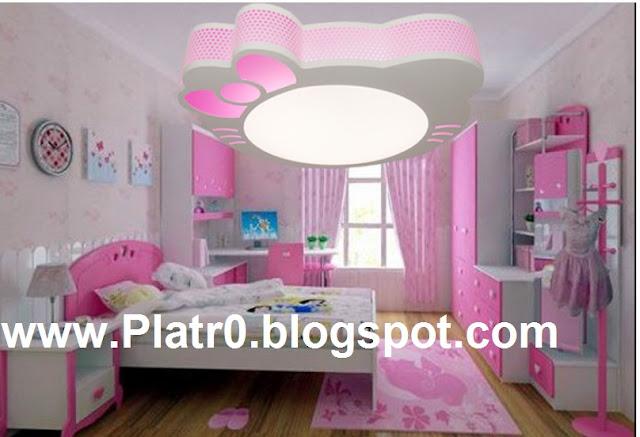 Faux plafonds pour chambre a coucher solutions pour la for Faux plafond chambre fille