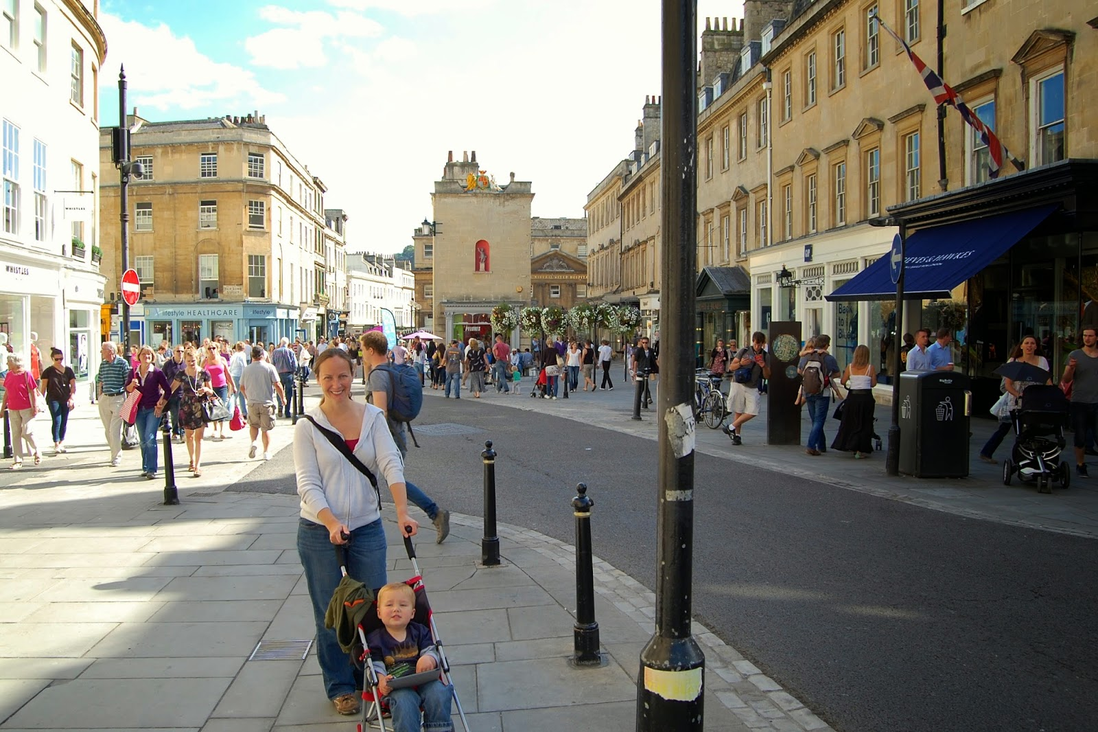 Streets of Bath, England