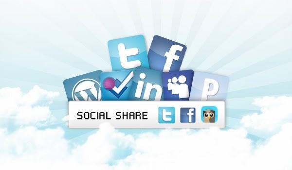 Thêm bộ nút Like của Facebook - Google Plus - Tweet vào blogspot