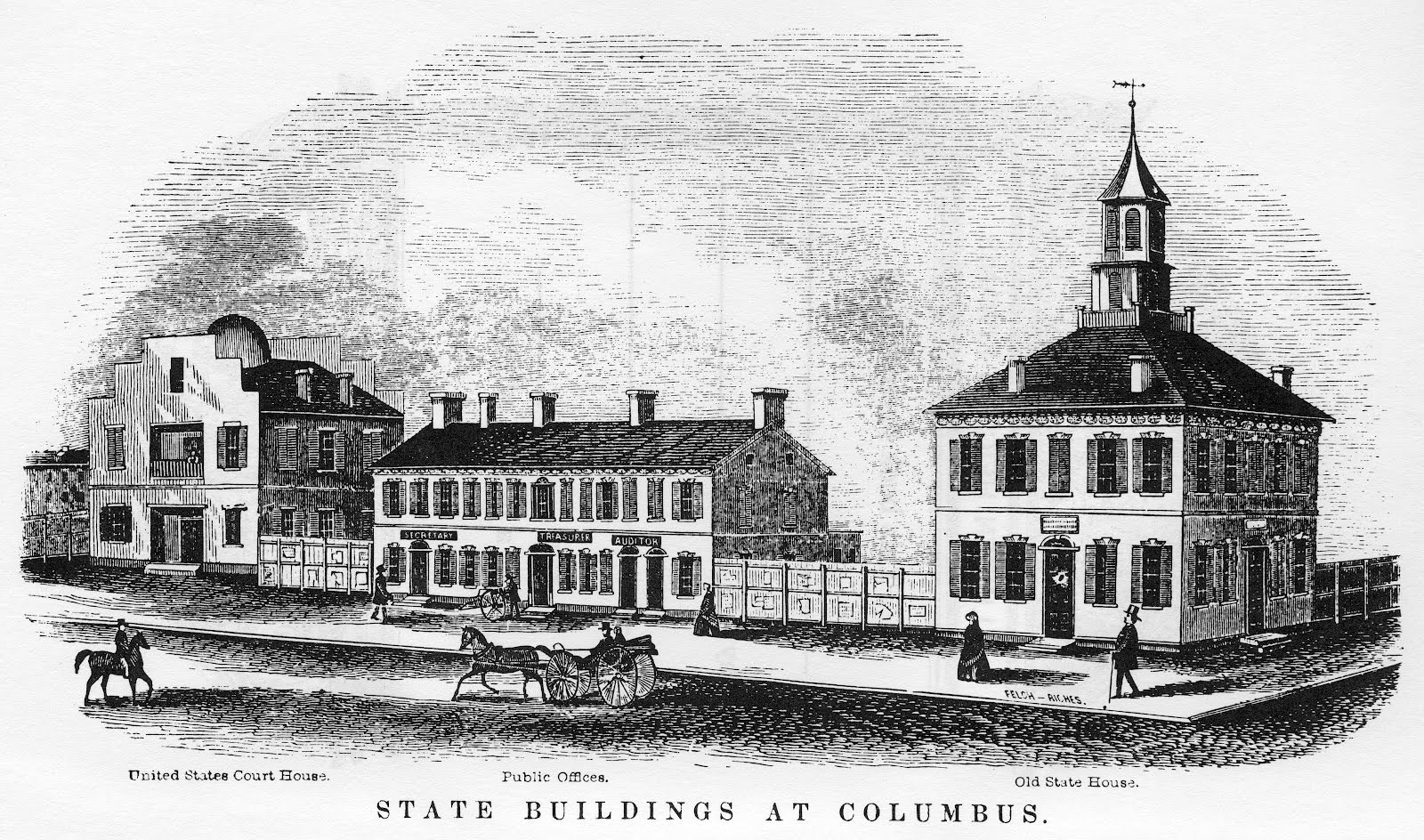 Columbus bicentennial the formation of columbus the for Columbus capitale