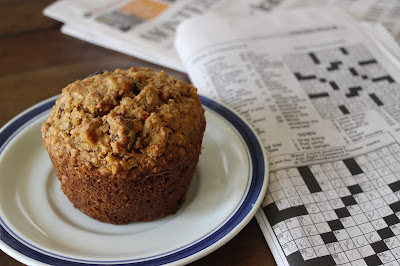 gluten-free hearty morning muffins
