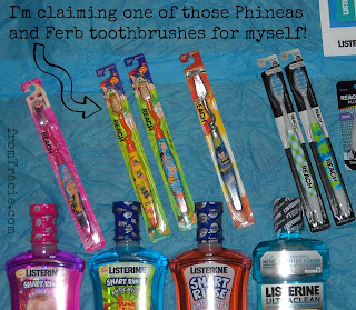 Phineas and Ferb Toothbrushes