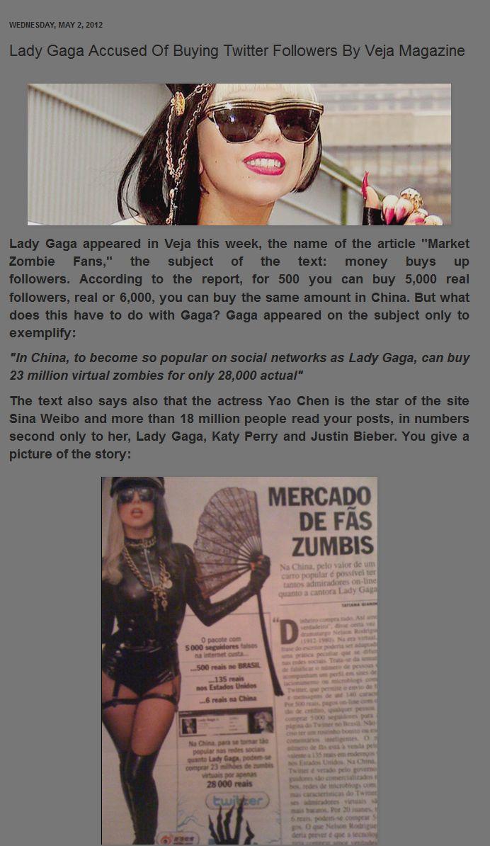 lady gaga 2012 album
