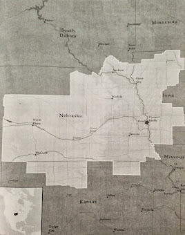 Nebraska Omaha Mission Boundaries