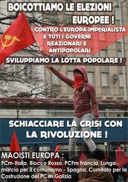 Boicottiamo le elezioni Europee!