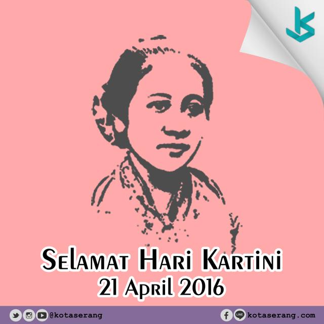 Gambar Vector - Hari Kartini 2016