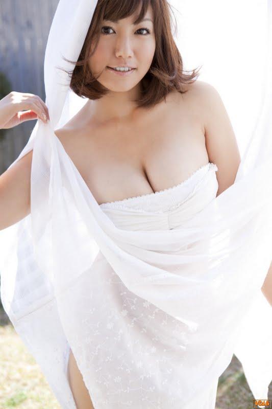 Sayaka Isoyama Sexy in White Lingerie