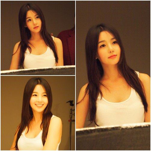 news nam gyuri shows off smooth skin and glamorous body daily k