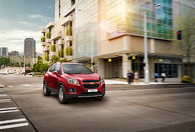 5 2013 Chevrolet Tracker   SUV debuted in Paris