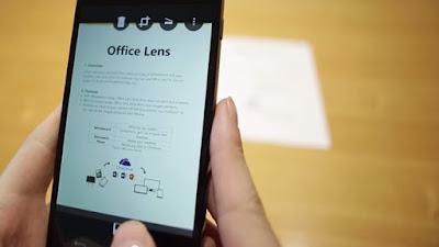 مايكروسوفت تطلق تطبيق الماسح الضوئي Office Lens